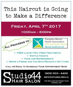 Haircutting flyer - 2017 - Studio 44