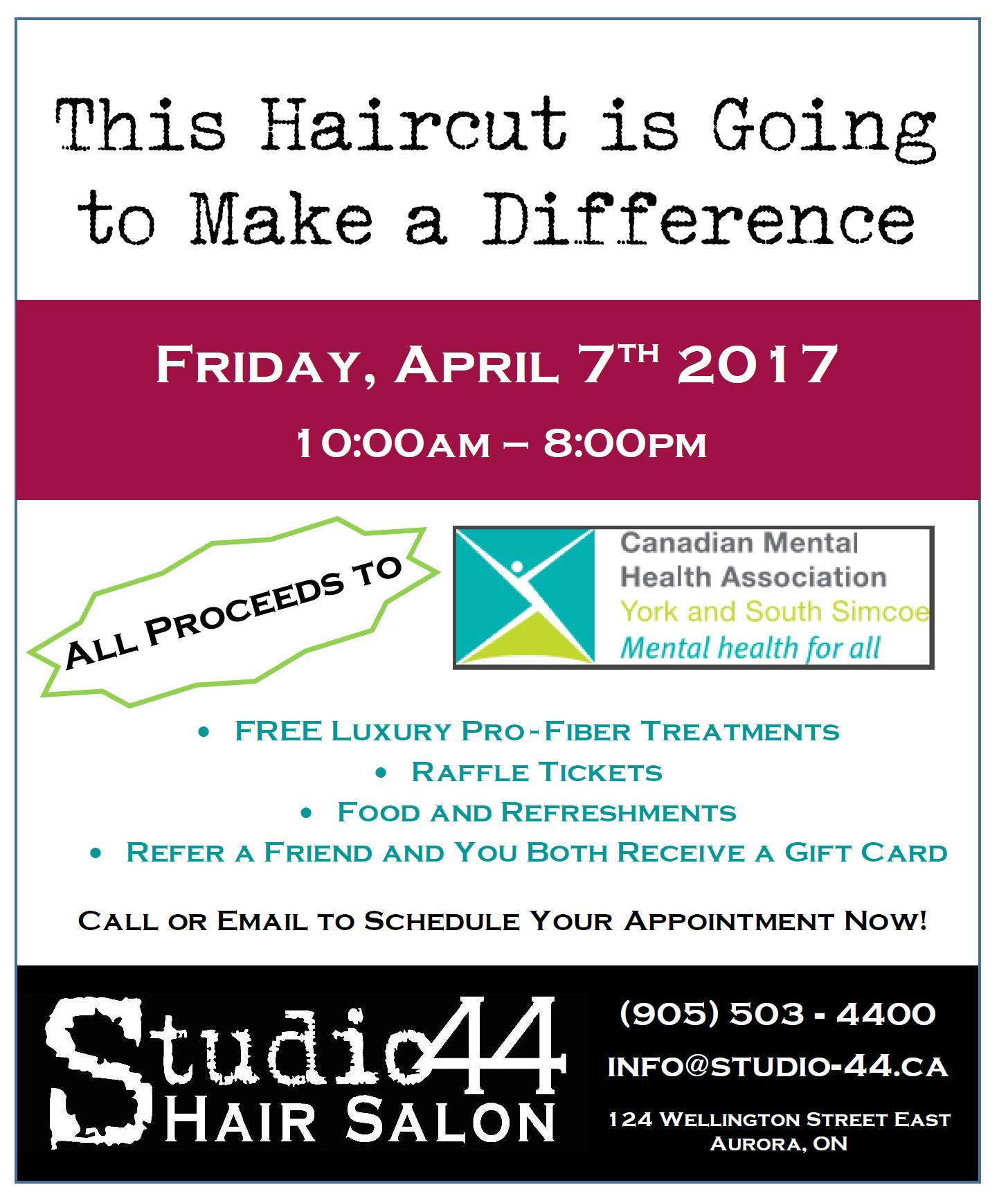 Haircutting for Youth Mental Health