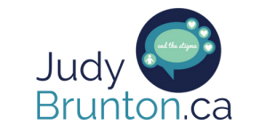 Horizontal Logo for Judy Brunton