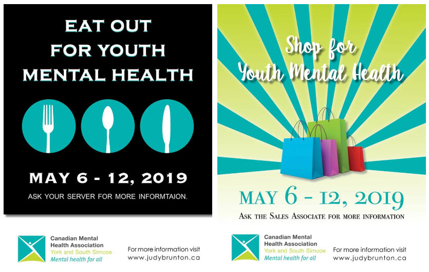 eat and shop for mental health