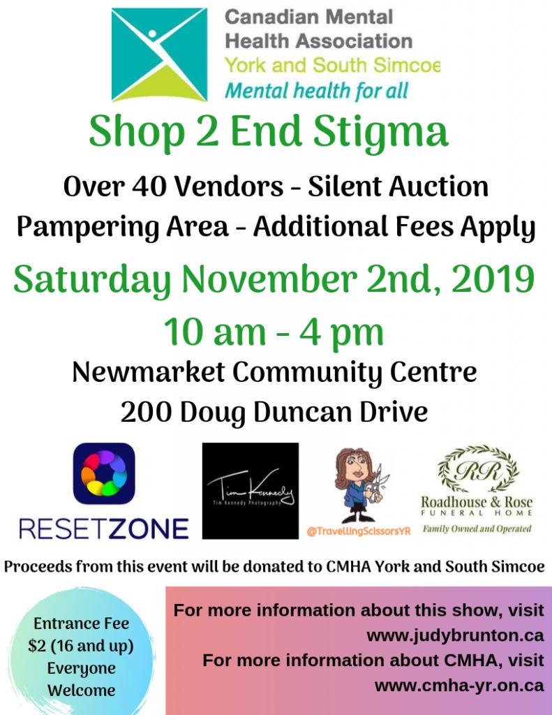 Shop 2 End Stigma - 2019 Flyer