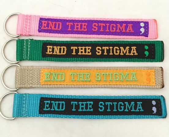 End The Stigma Key Fob