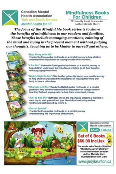 Mindfulness Books - Judy Brunton - Featured Image
